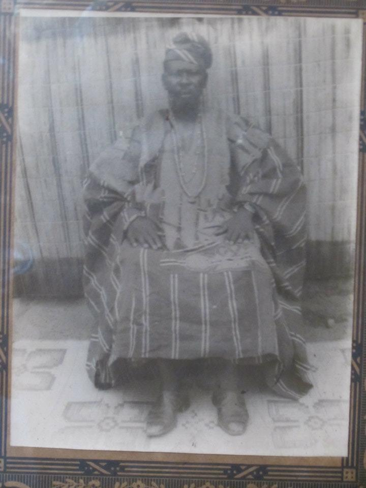My Grand Baba in Ifa, Oyewusi Amoo Fakayode