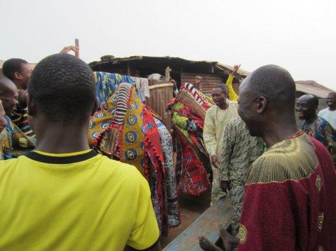 Egungun Masquerade in Ola, Osun State, Nigeria