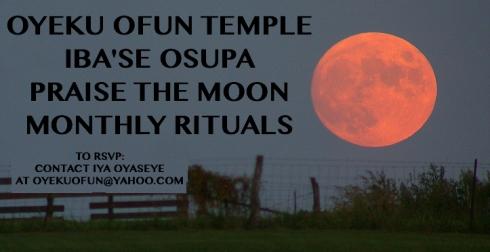 IBASE OSUPA @ Oyeku Ofun Temple in Arcata, CA