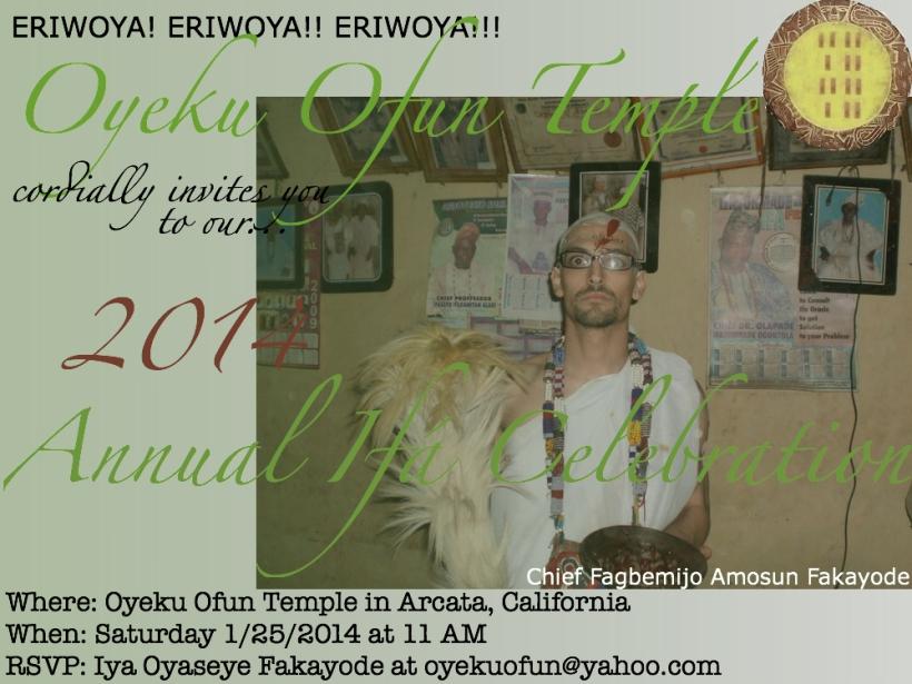 2014 ODUN IFA