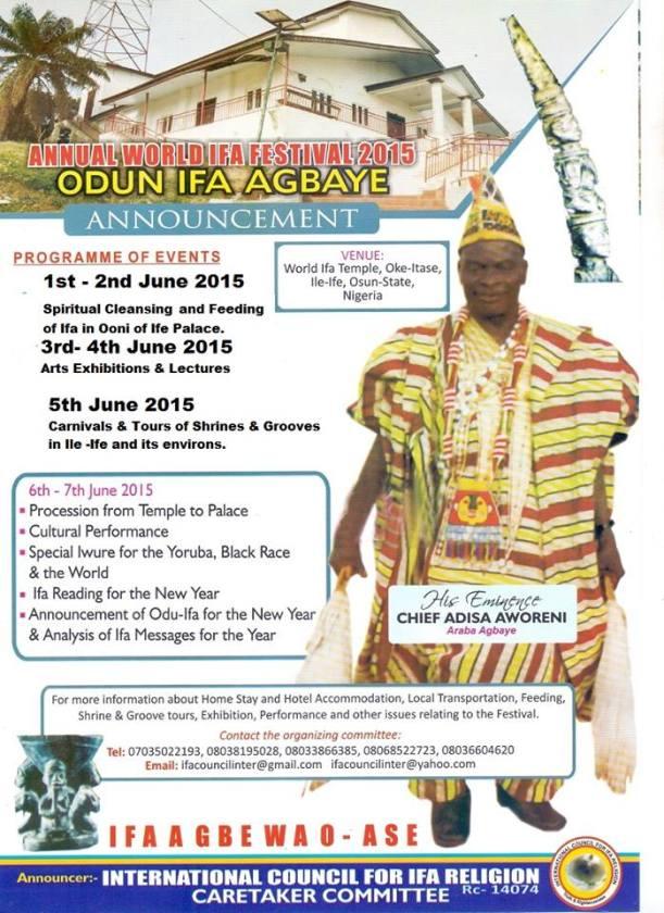 ODUN IFA AGBAYE 2015